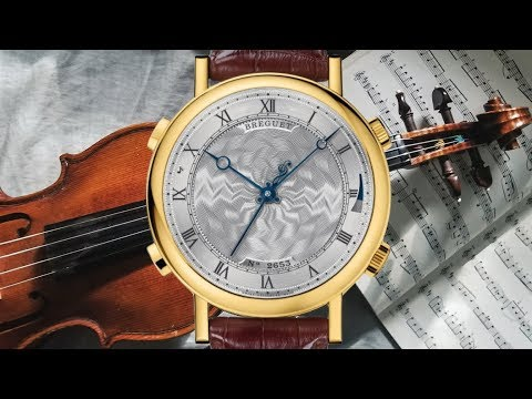 THE WATCH THAT PLAYS BACH: Breguet La Musicale 7800