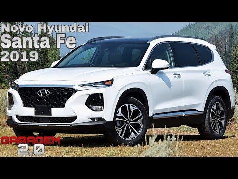 Novo Hyundai Santa Fe 2019 No Brasil - (Garagem 2.0)