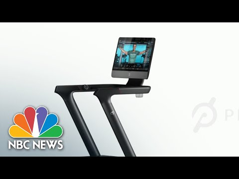 Peloton Announces Treadmill Recall After Child's Death and Many Injuries | NBC Nightly News