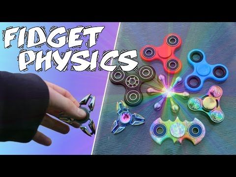 HOW DO FIDGET SPINNERS WORK?   SCIENCE AND SPIN TEST!