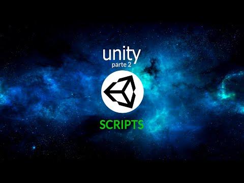 Introducción a Unity.  Parte 2. Creación de Scripts