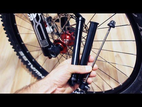 Steckachsen am Vorderrad und Hinterrad - ausführliche Infos mit Ausbau und Einbau