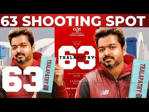Thalapathy 63 Shooting Spot Location | Thalapathy Vijay | Atlee