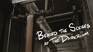Inside Look at a Film Lab // The Darkroom