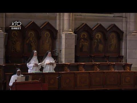Prière du Milieu du jour du 24 juillet 2021 des Bénédictines du Sacré-Coeur de Montmartre