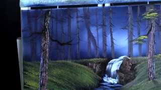 Trees & Falls - Painting Lesson