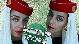 Emirates Cabin Crew MAKEUP ♡ TUTORIAL ✈  | Yas & Nab