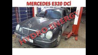 Mercedes E 320 hidrojen yakıt sistem montajı