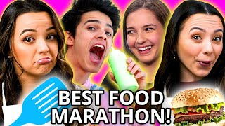 ALL ABOUT FOOD! Best Cooking Challenge Compilation w/ Merrell Twins, Lexi & Brent Rivera, & MORE!