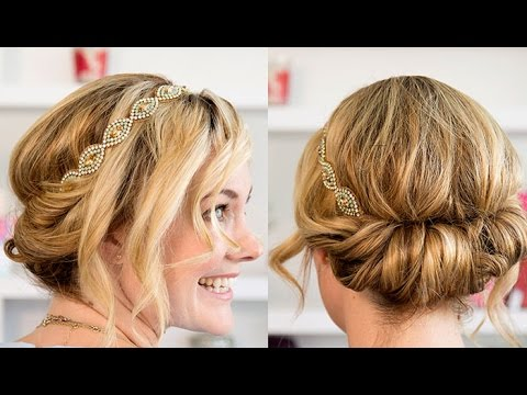 How to Easy Wedding Updo