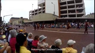 Pro Football Hall of Fame Parade 2015