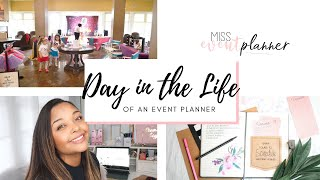 What Do Event Planners Do? Day In The Life Of An Event Planner  (VLOG Style)