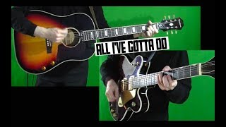 All I've Gotta Do - Guitar Cover - John and George Isolated and Mixed
