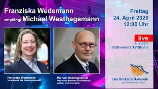 Senator Michael Westhagemann zu Gast beim Wirtschaftsverein