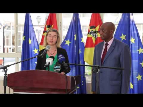 Press statement by the HRVP after meeting with Mozambican Foreign Minister MARQUES BALOI