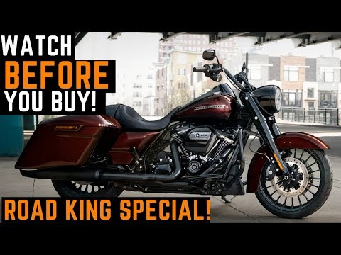 Watch BEFORE You Buy! 2019 Harley Davidson Road King Special 114 Demo Ride First Impressions Review