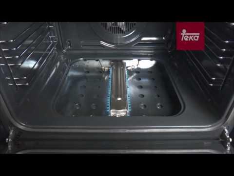 Horno a gas: Encendido y desmontaje de puerta