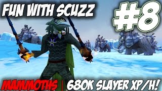 Fun with Scuzz | Episode 8 [TESTING ACHERON MAMMOTHS AND CRYSTAL SHIFTERS] Runescape 3 Gameplay (PC)