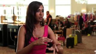 Sabrina Beneett Malaysia Miss Universe 2014 Official Interview