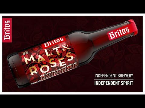 Agence Monogram Design New Premium Beer Packaging Design for Malt and Roses