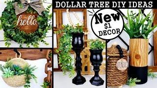 NEW DOLLAR TREE DIYS | MODERN HOME DECOR IDEAS 2020 | $1 HIGH END DIYS