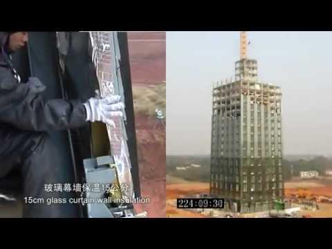 Xây nhà 30 TẦNG trong...........15 NGÀY (Made in China)