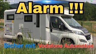 Die super Alarmanlage von Vodafon Automotive / womoclick