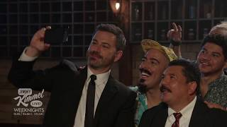 Jimmy And Guillermo Take Their Best Selfie Ever