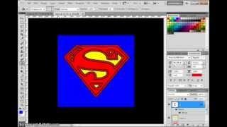 How to make SUPERMAN LOGO using PHOTOSHOP CS5