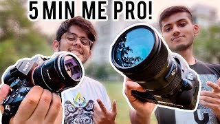 How to Use a DSLR Camera | Beginners Guide in Hindi ! ft Angad Kahai Singh