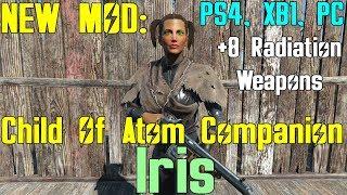 Fallout 4: New Mod - Child Of Atom Companion - Iris