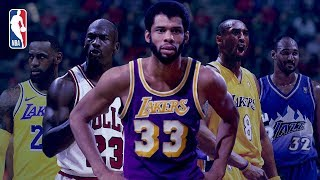 The NBA's Top 5 All-Time Leading Scorers | LeBron, Jordan, Kobe, Malone, Kareem