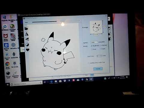 Eleks Maker Desktop Cam Software Walk Through - смотреть