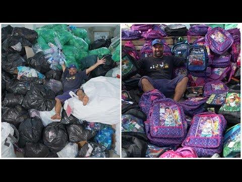 """En Tunisie, 21 tonnes de déchets """"recyclés"""" en cartables scolaires"""