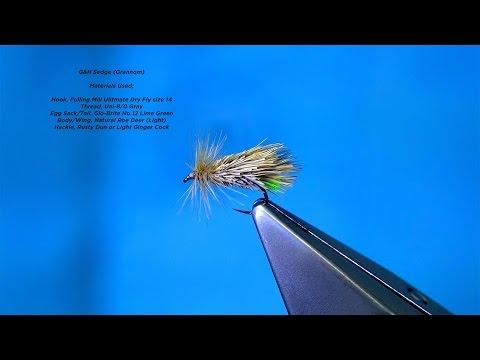 Tying the G&H Sedge Grannom by Davie McPhail