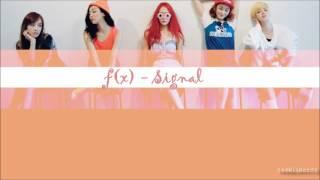 f(x) - Signal(시그널) Karaoke/Instrumental