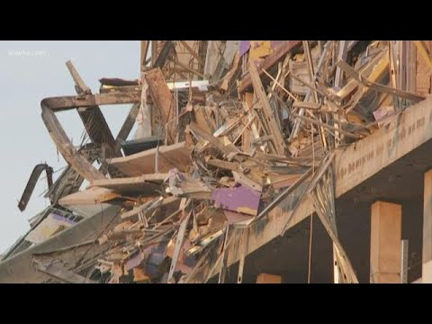 Drones 'instrumental' in search for missing worker in Hard Rock collapse site, officials say