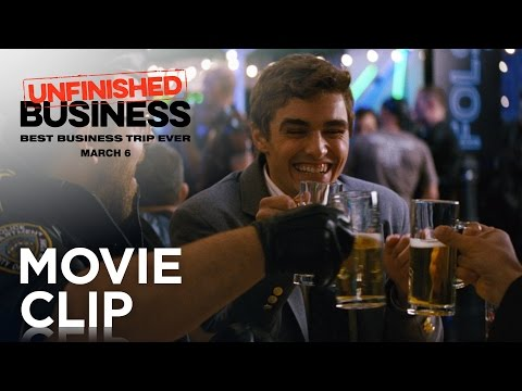Unfinished Business (Clip 'Tequila Slaps')