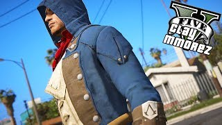 Assassin's Creed In GTA 5! The Glitched Assassin (GTA 5 Mods)