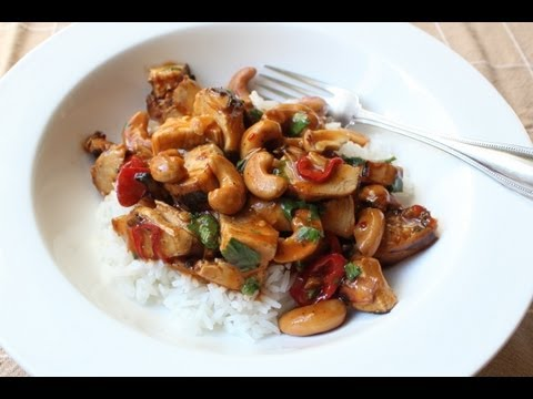 Cashew Chicken – Leftover Chicken with Cashews in Spicy