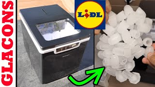 LIDL machine à glaçons SILVERCREST fabrique à glacons ice maker Eiswürfelmaschine Macchina ghiaccio