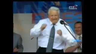 Ельцин Лучший фильм о Борисе Ельцине Boris Eltsyn Best Film About Eltsin Eltcin dancing Russia 1990s