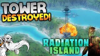 "Radiation Island Gameplay - ""FIRST TOWER DESTROYED!!!"" Walkthrough Let"