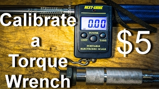 Harbor freight cen tech 11 function digital multimeter calibrate a torque wrench with a 5 luggage scale fandeluxe Image collections