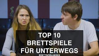 BRETTSPIELE FÜR UNTERWEGS   unsere top 10