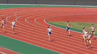 2017岩手県高校新人陸上競技会女子400メートルA決勝