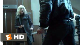 Atomic Blonde (2017) - Savage Stairwell Fight Scene (5/10)   Movieclips