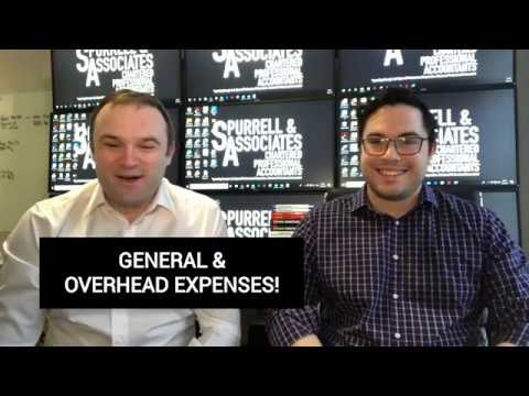 General & Overhead Expenses