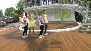 Aneta Sablik mit The One   ZDF Fernsehgarten