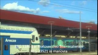 preview picture of video 'Treni ad Arezzo il 16 aprile 2014 (video+foto)'